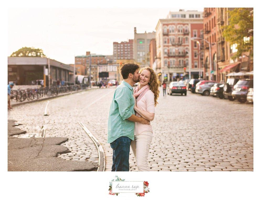 Hoboken Engagement Session