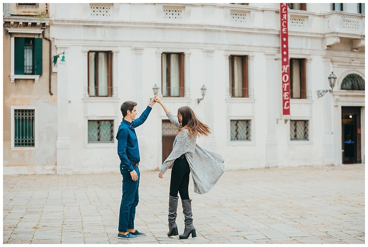 Venice Italy Engagement Photography Leanne Rose Photography