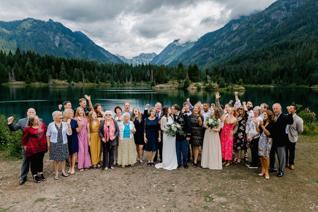 pnw mountain wedding