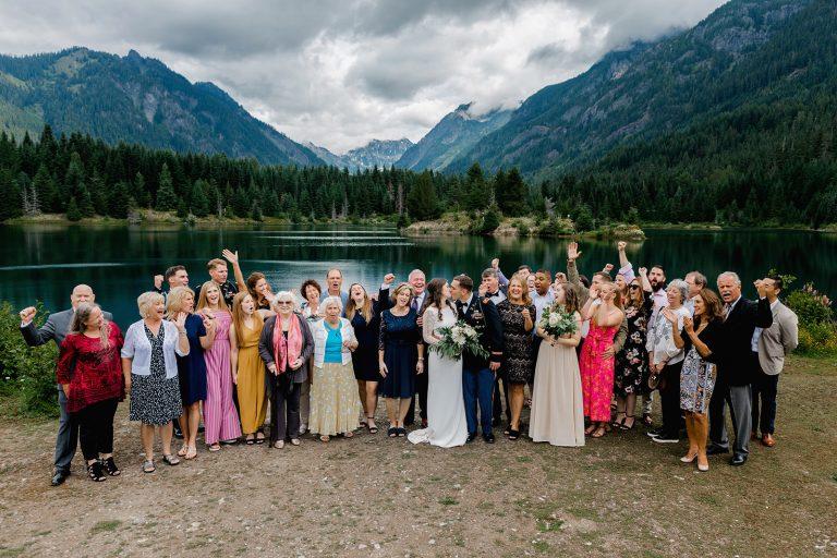 pnw mountain wedding